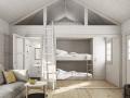 attefallshus med sovloft