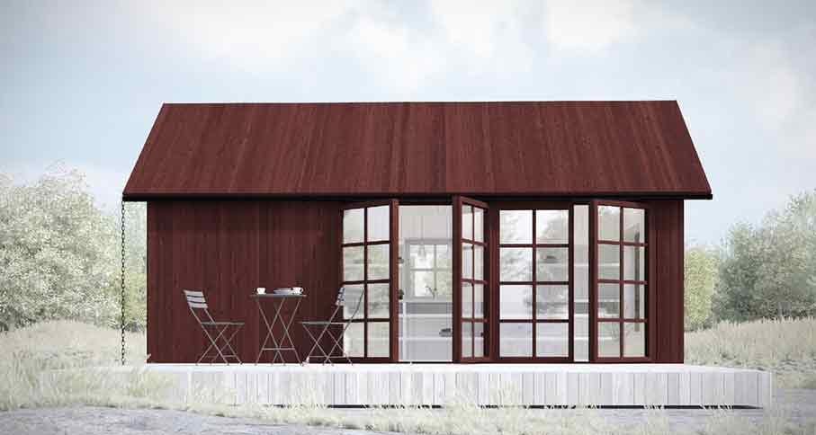 Attefallshuset nu verklighet – fritt fram att bygga från och med 2 juli 2014