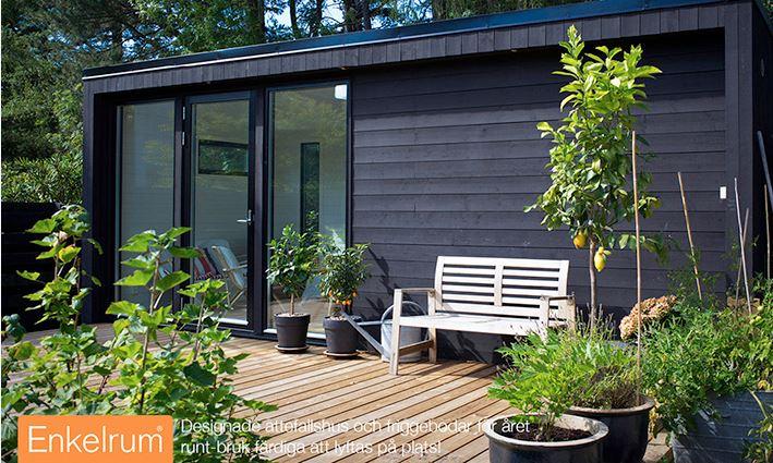 Klicka för mer information om attefallshus från enkelrum
