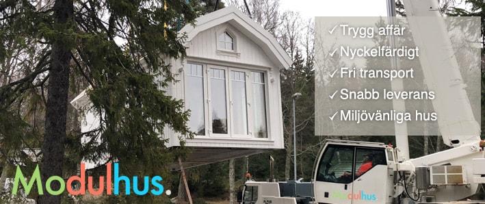 Klicka för mer information om attefallshus från modulhus