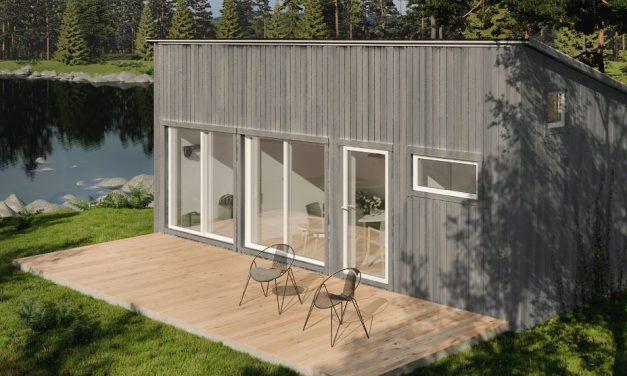 Polhus har lanserat en ny serie av attefallshus
