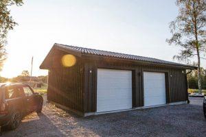 Lundqvist trävaru attefallsgarage