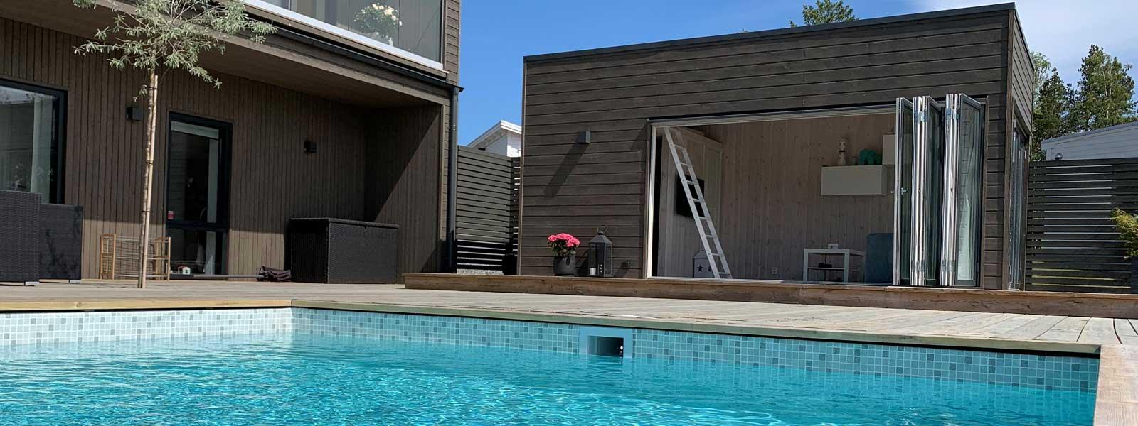 Pool hus